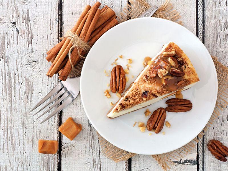 Cheesecake aux spéculoos et à la cannelle