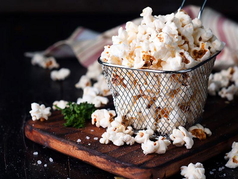 Popcorns salés au curcuma