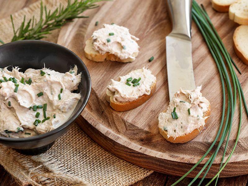 Rillettes de thon au fromage frais (type Saint Moret)